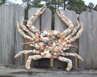 Seashell Wine Bottle Decor Wedding Wine Bottle Centerpieces Etsy In 2020 Crab Decor Crab Art Seashell Crafts