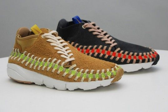 Nike Footscape Woven Chukka Knit  Flat Gold     Night Stadium ... 7f47cbd80
