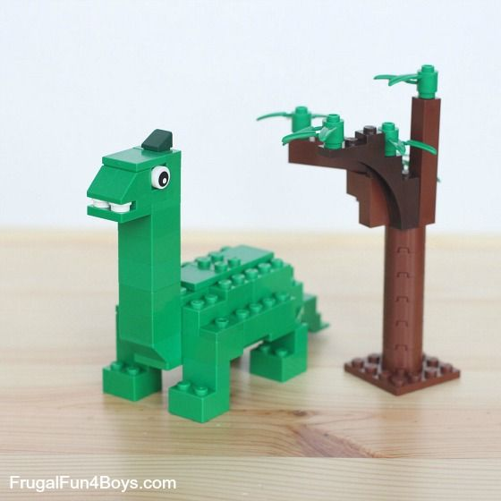 Five lego dinosaurs to build lego lego dinosaur lego dino lego - Dinosaure lego ...