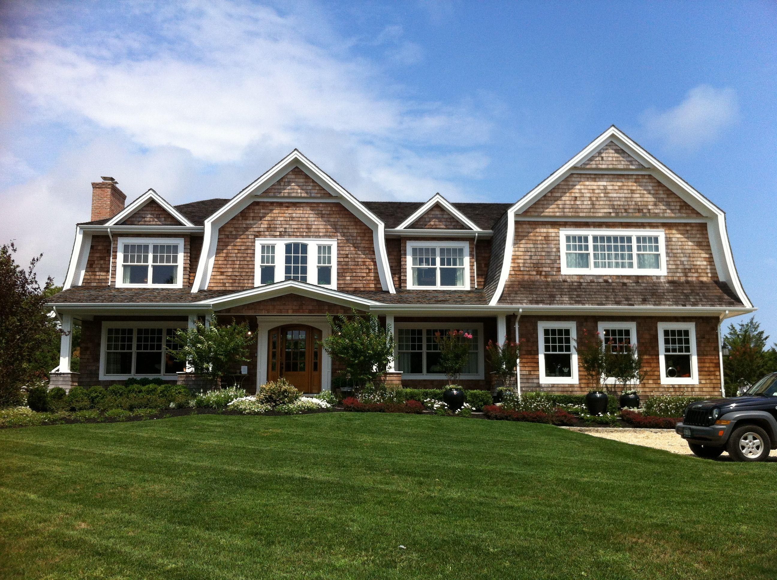 Hamptons style the house that a m built hamptons for Hampton shingle style house plans