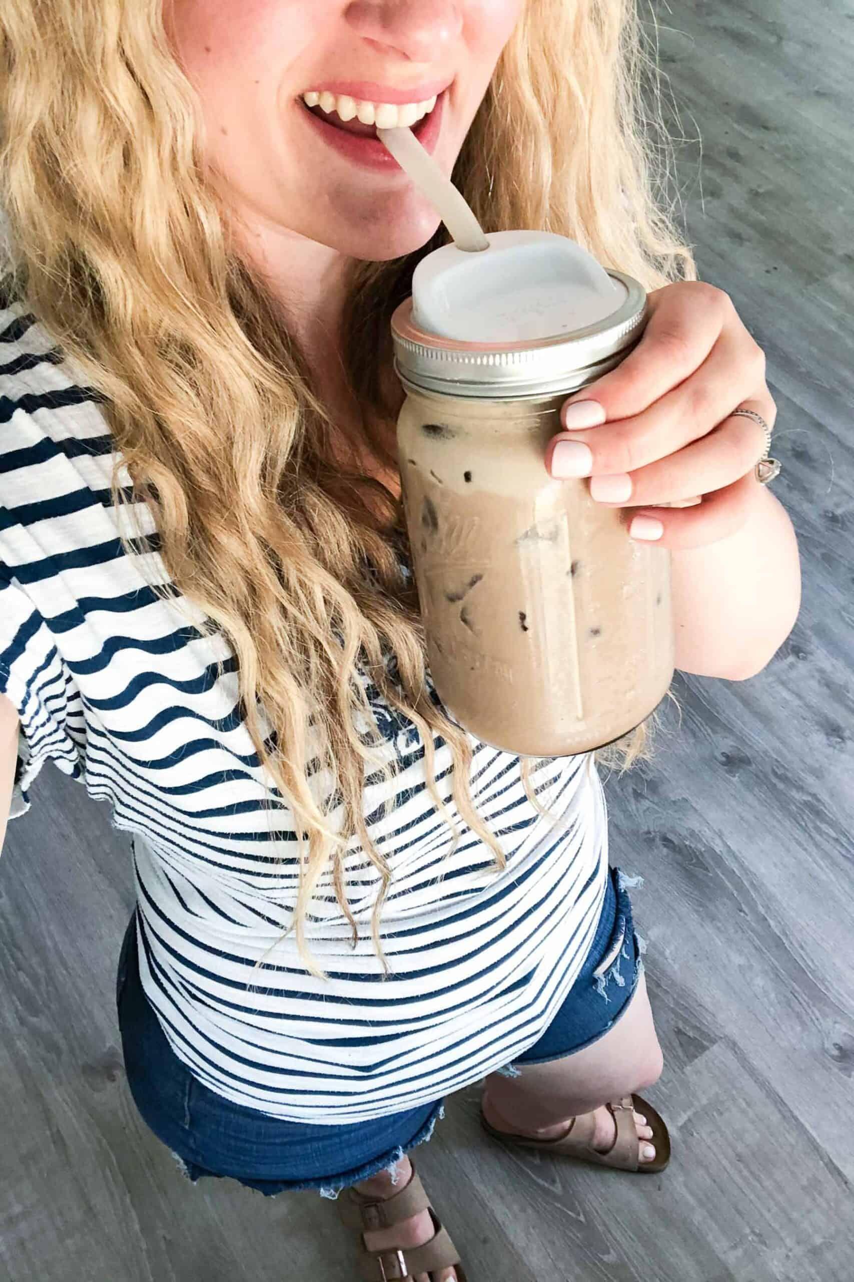 Keto iced mocha tastes lovely mocha coffee recipe