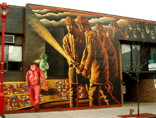 Seventh Ward Fire House 11 Mural Public Art Murals
