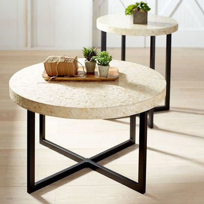 $199 Elegant And Modern, Our Hand Laid Mother Of Pearl Coffee Table