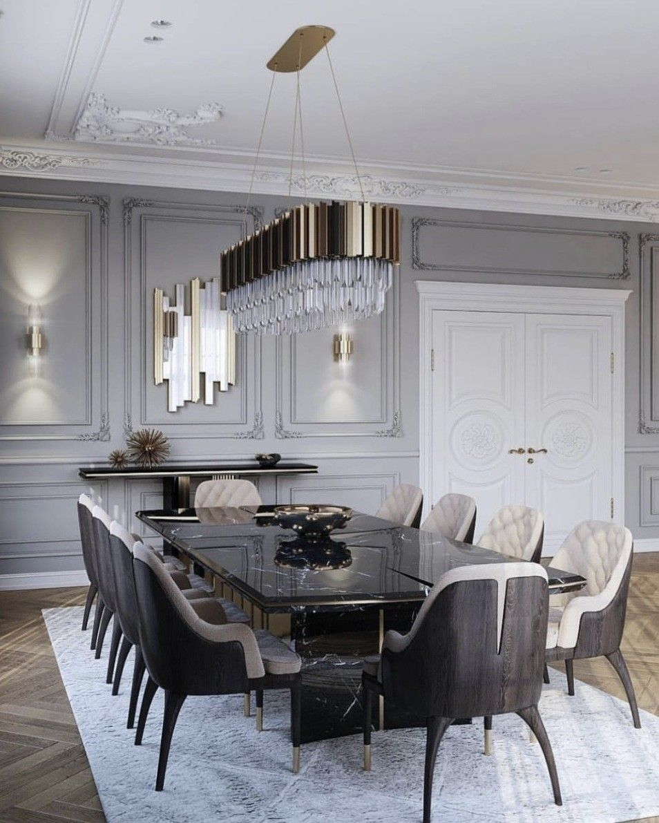 Homemodern House Design: Luxury Dining Tables, Dining Room