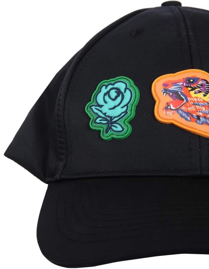 9d123118 Kenzo Iconic Patch Baseball Hat | Products | Baseball hats, Baseball ...