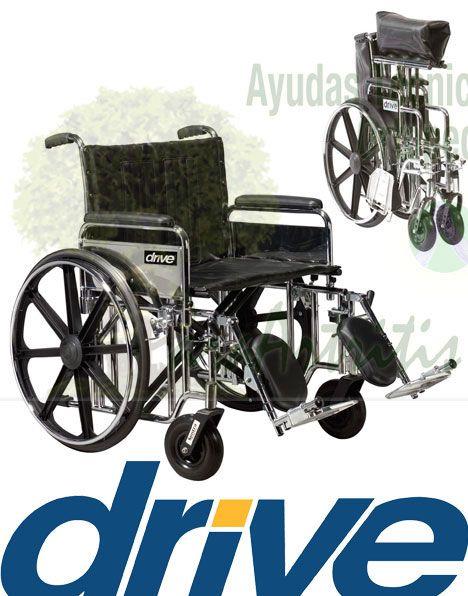 silla de ruedas bariatricas
