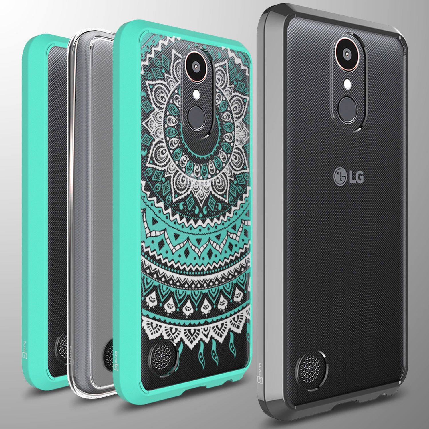 new arrivals e4bc6 d7c53 For Lg K20 Plus / K20 V / K20V Case Hard Back Bumper Slim Phone ...
