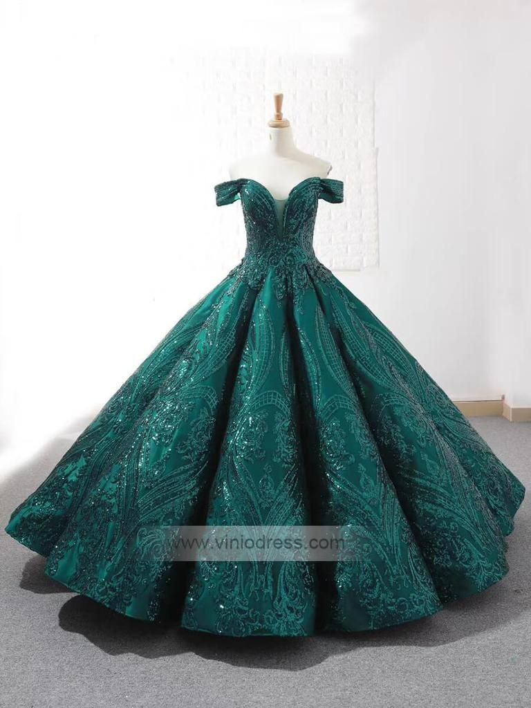 Off Shoulder Prom Gowns Emerald Green Quinceanera Dresses Fd1097 In 2021 Prom Dresses Vintage Emerald Green Quinceanera Dresses Quinceanera Dresses [ 1024 x 768 Pixel ]
