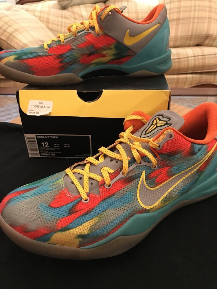 6b35e202e9d10 Nike Kobe 8 System Venice Beach Multicolor Size 12 Limited QS  fashion   clothing  shoes  accessories  mensshoes  athleticshoes (ebay link)