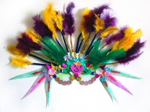 Diy Mardi Gras Masks For Kids Alpha Mom Mardi Gras Diy Mardi Gras Mask For Kids