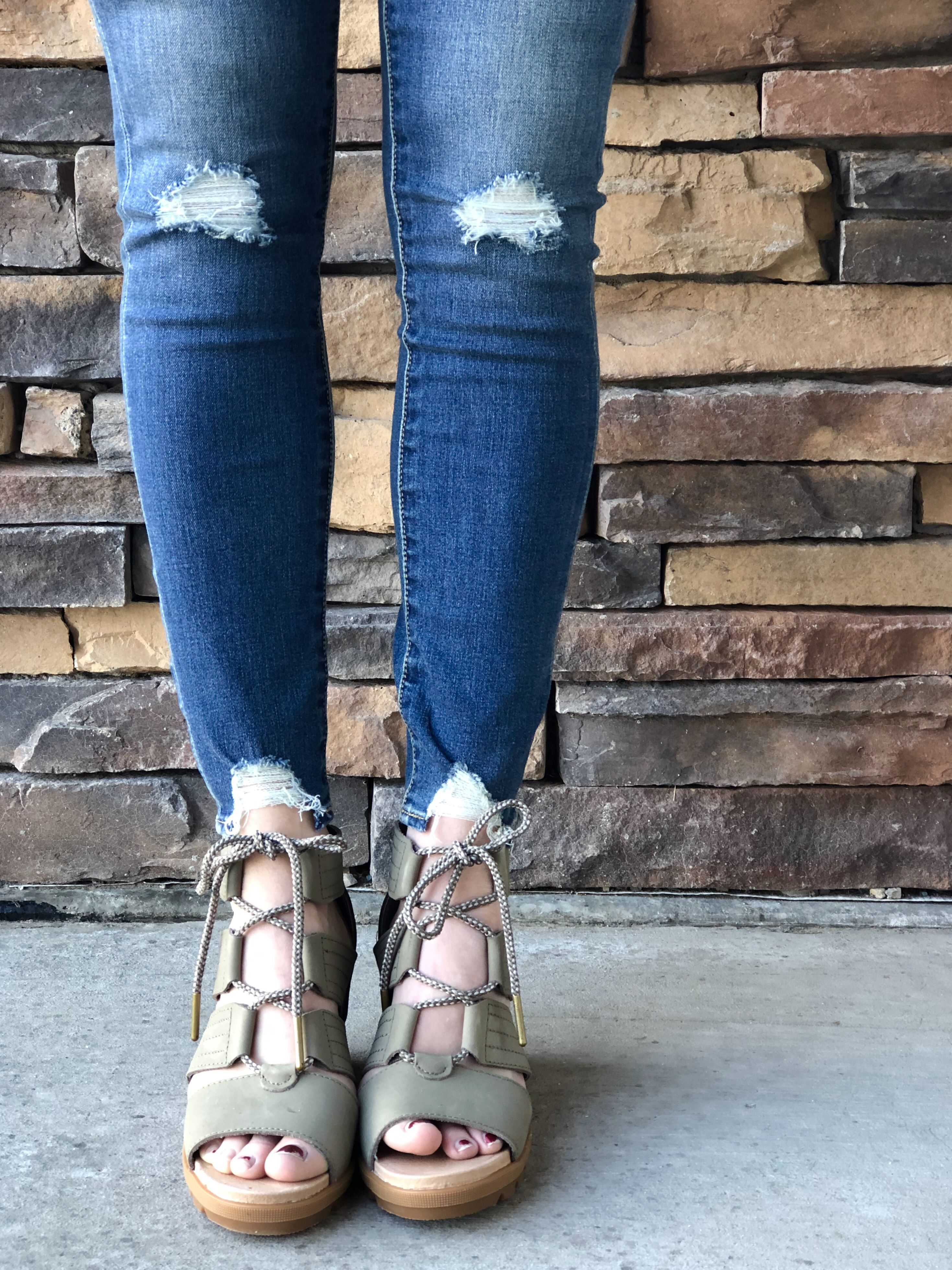 27d7107c1642 We love a good cute wedge sandals. Even better when it s comfy! Check out  these must-haves from Sorel!