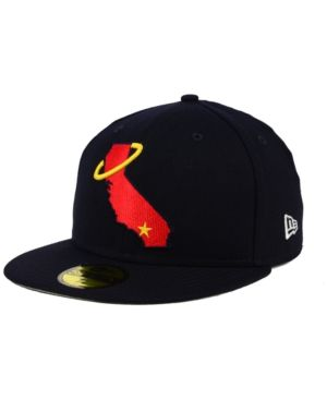 best website 1be42 665e6 NEW ERA LOS ANGELES ANGELS OF ANAHEIM BANNER PATCH 59FIFTY FITTED CAP.   newera