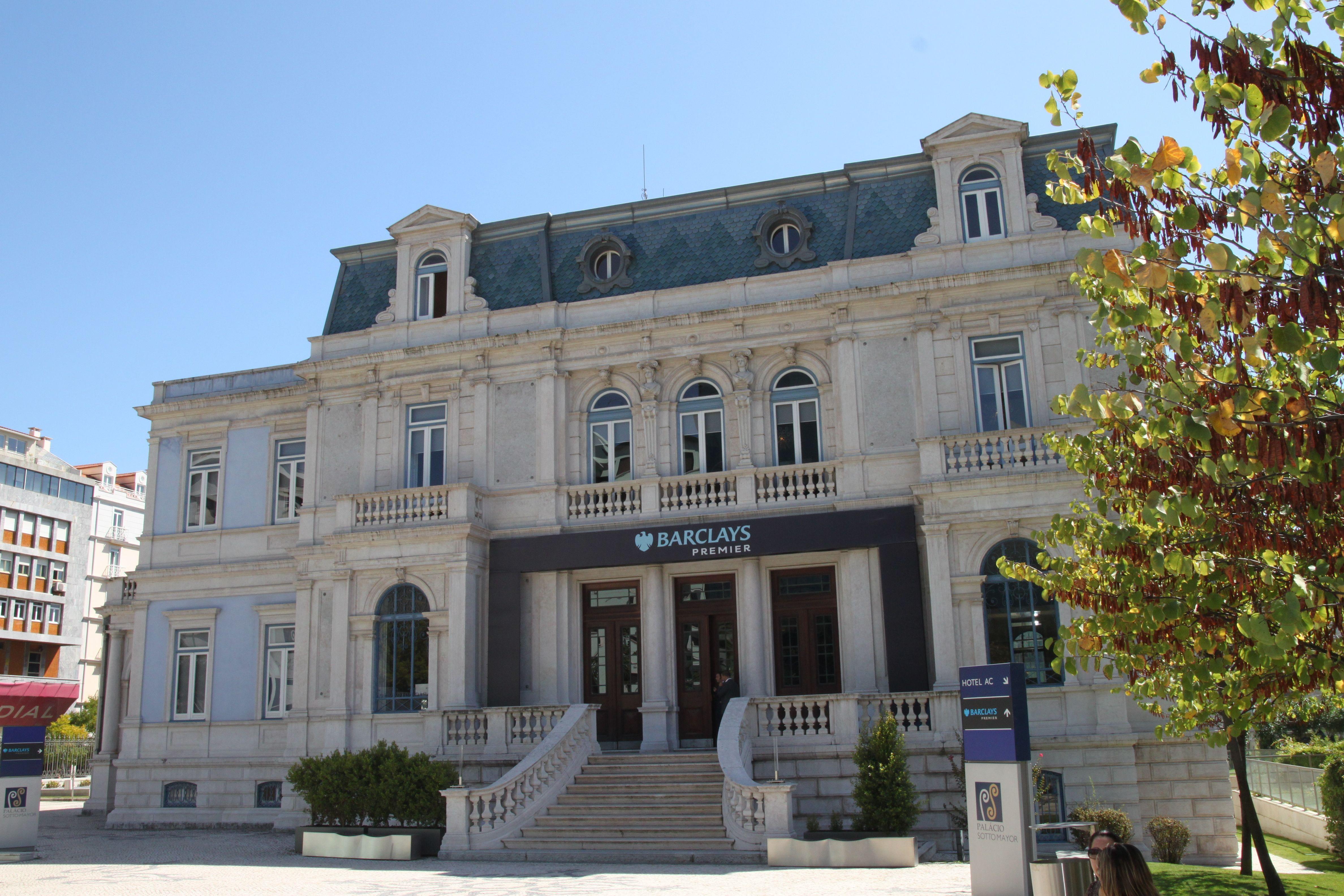 Fachada do Palácio Sotto Mayor, Hoje em dia Lisboa
