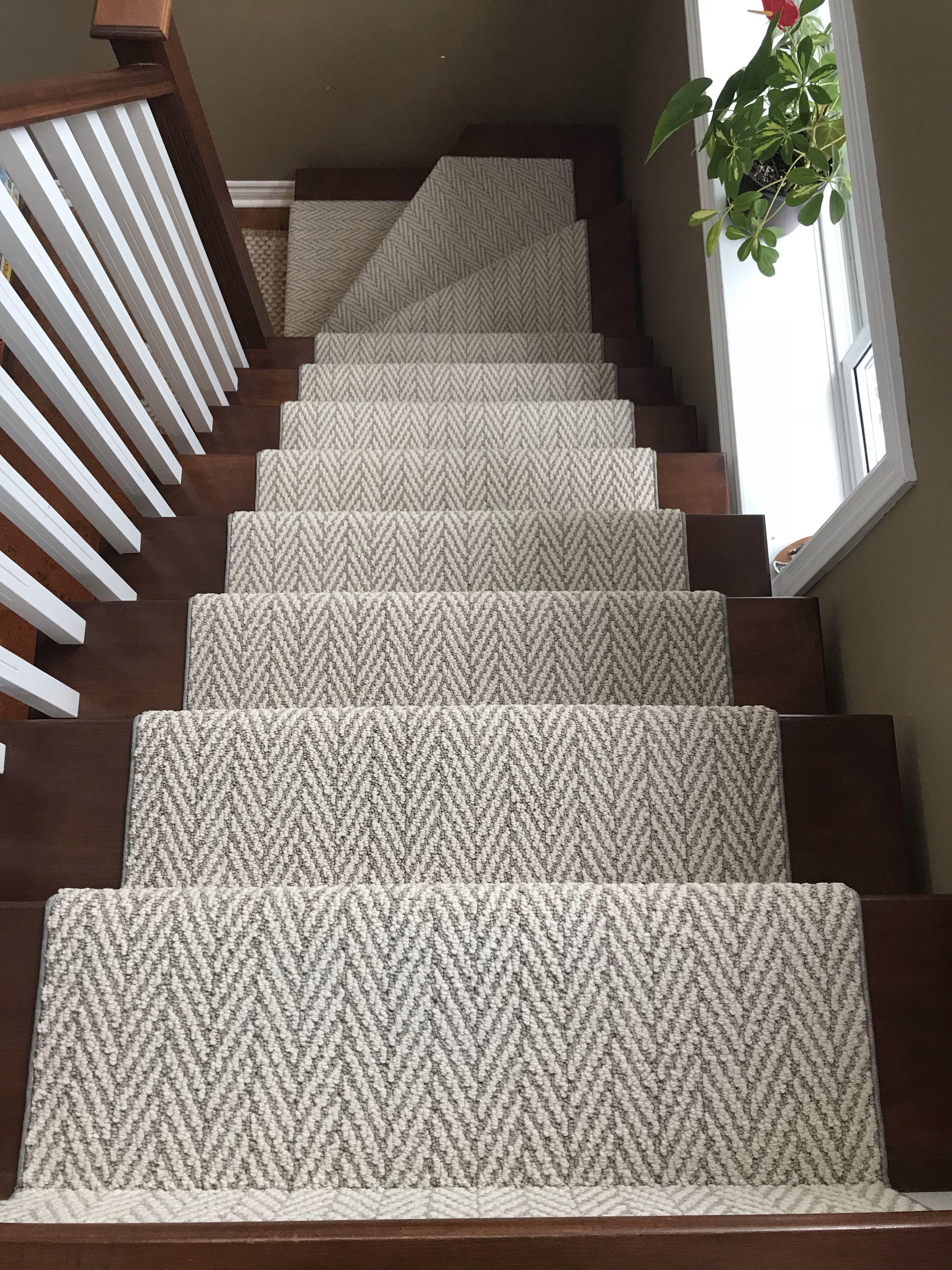 Stairs Runner Chevron Herringbone Runner Stair Runner In 2020 | Rug Runners For Steps | Design | Pattern | Black | Hallway | Animal Print