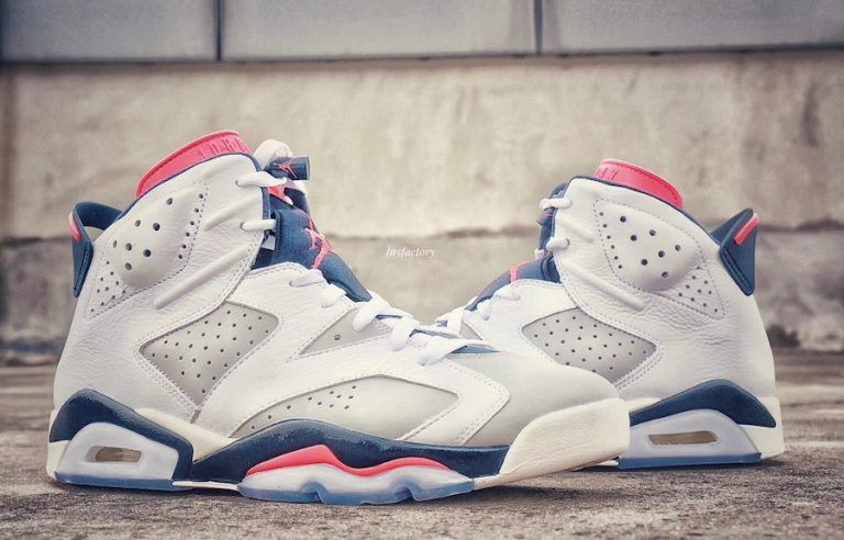 c8cac28953c New Jordan Releases Dates October 2018 Air Jordan 6 Tinker Color   White Infrared 23-Neutral Grey-White-Sail Style Code  384664-104 Release  Date  October 6
