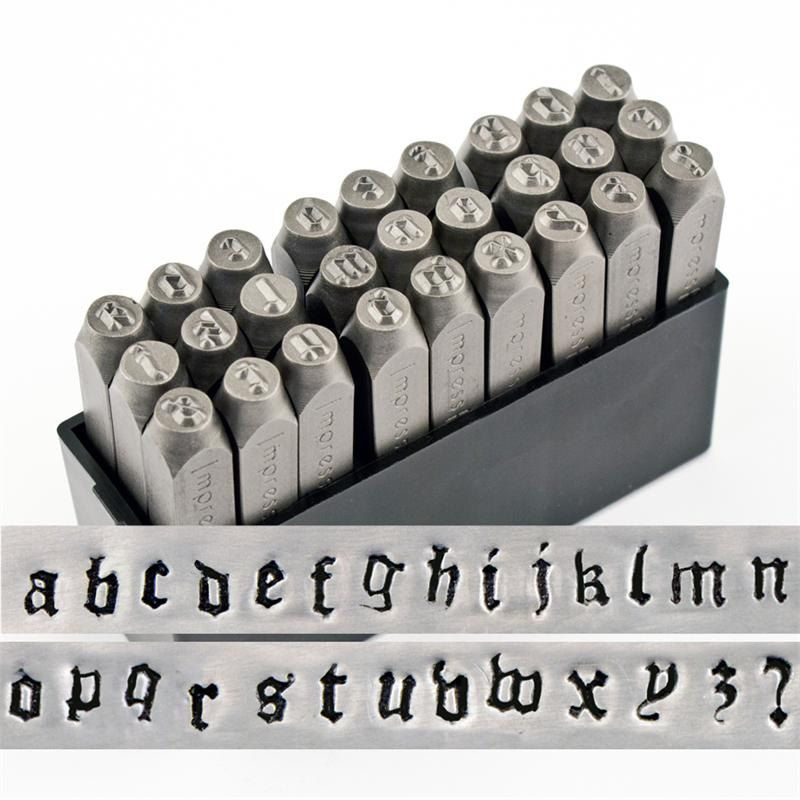 Brand New Font Steel Letter Stamps Canterbury Or By Stampadoodle 59 75 Letter Stamps Alphabet Stamps Metal Stamping