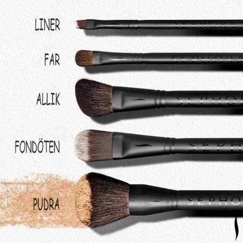 Photo of Makyaj fırçaları #fırçaları #makyaj