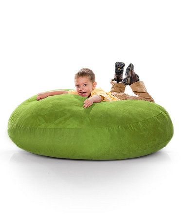 Remarkable Lime Green Cocoon Jr Beanbag From Jaxx Bean Bags Kids Unemploymentrelief Wooden Chair Designs For Living Room Unemploymentrelieforg