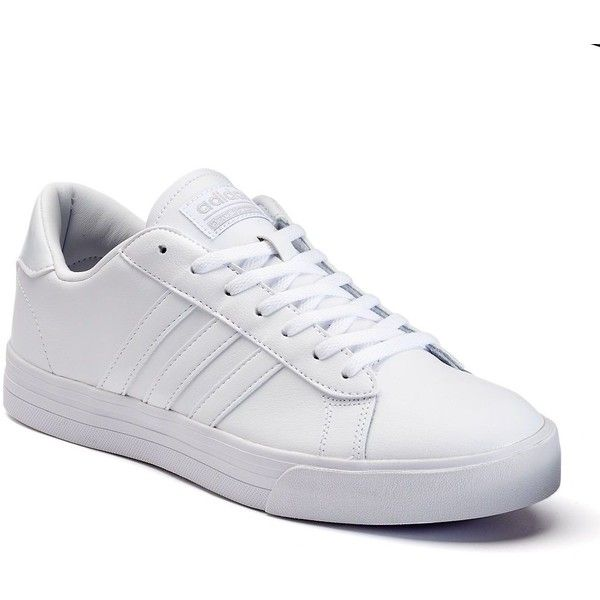 adidas cloudfoam trainers men white
