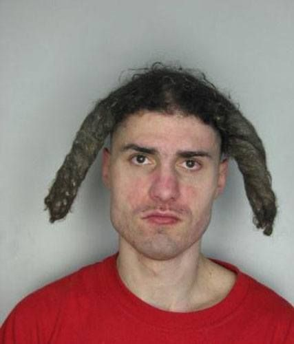 Worst Haircuts Of All Time Dreads Gone Wrong Stuff Pinterest