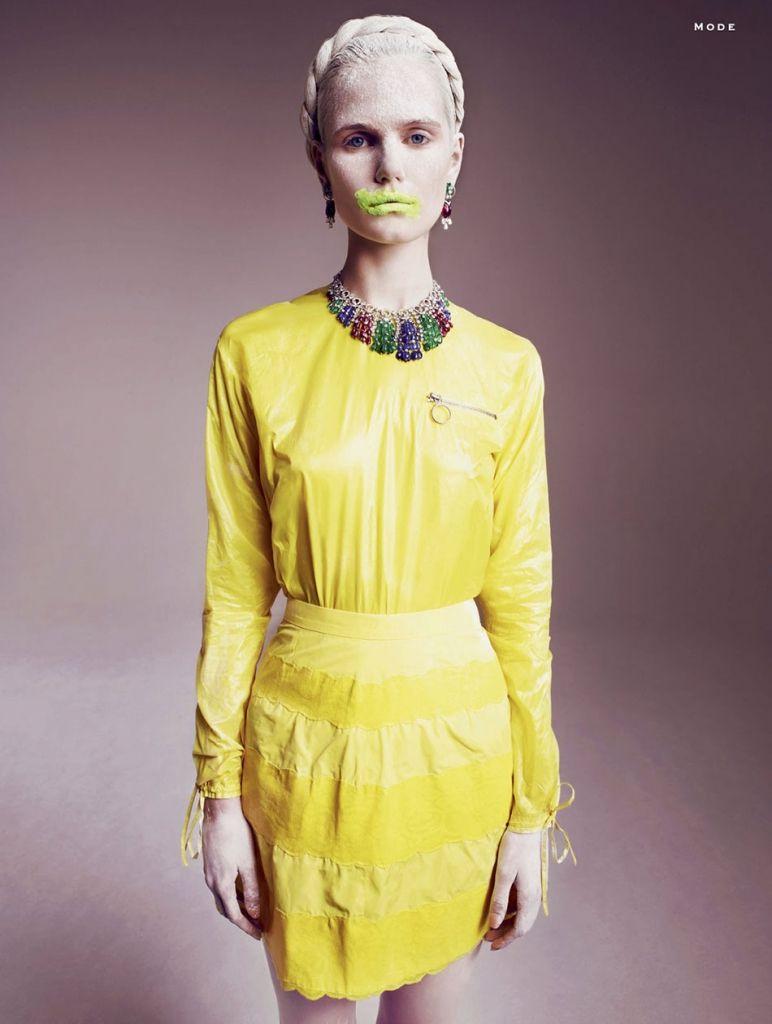 ANMARI BOTHA BY MARCIN TYSZKA FOR STYLIST MAGAZINE FRANCE NO.7 MAY 2013 | The Fashionography