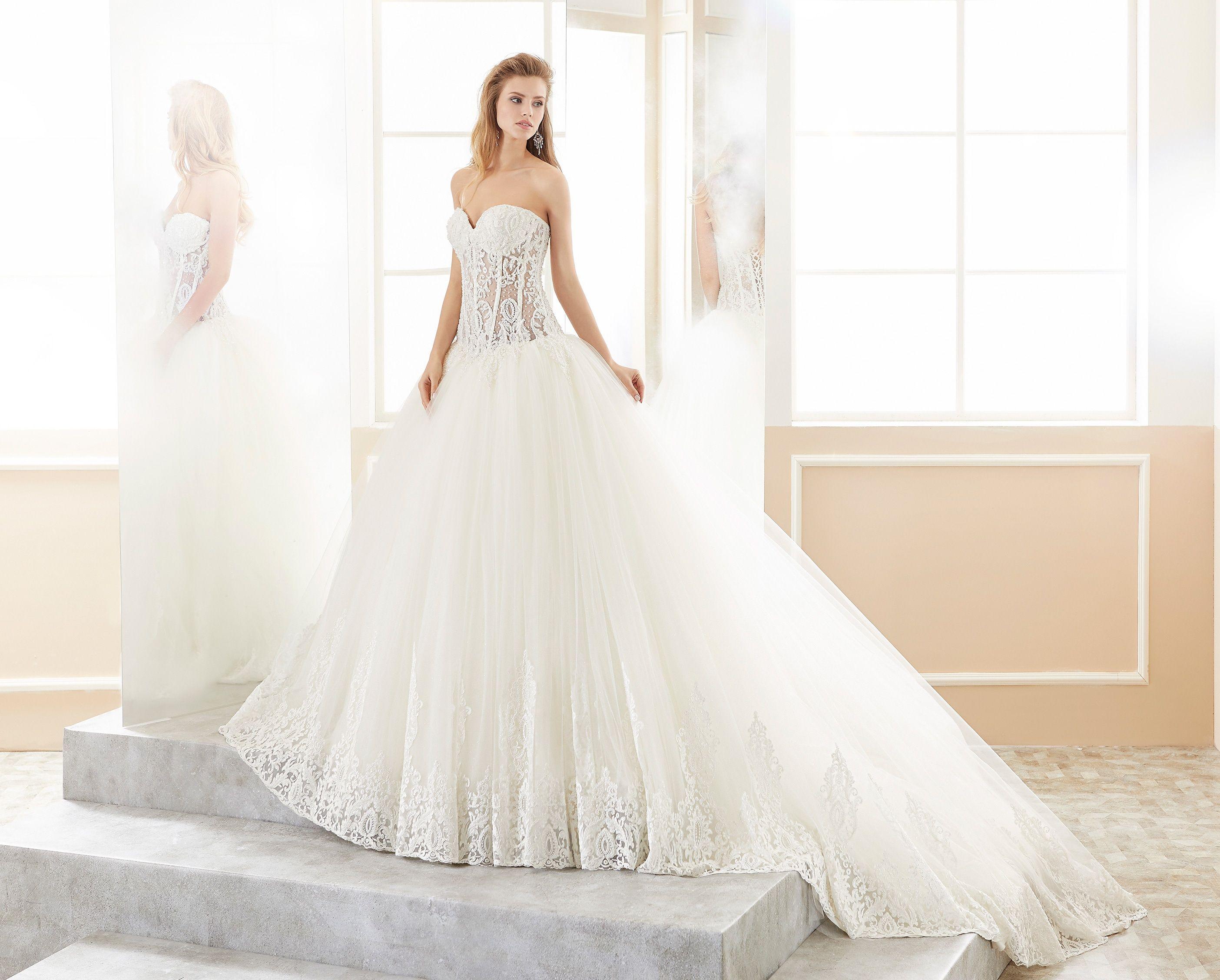Moda sposa collezione romance roab abito da sposa