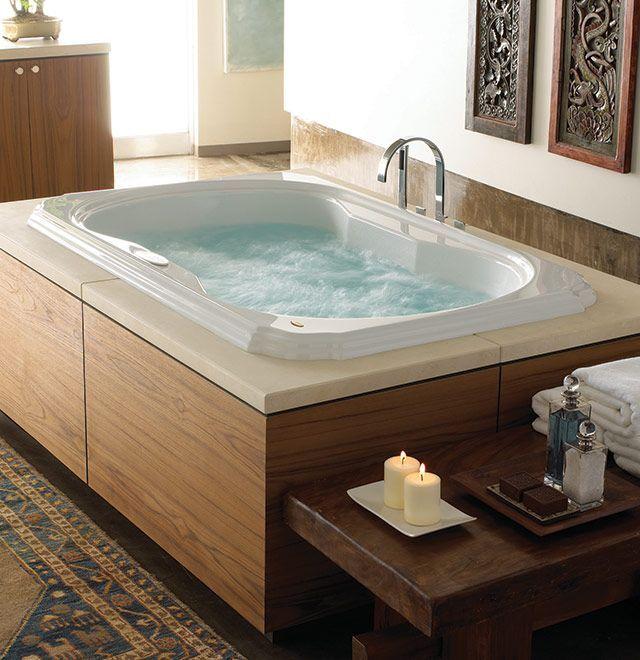 Nothing like a tub with jacuzzi jets #jettub Reid Aero Pinterest