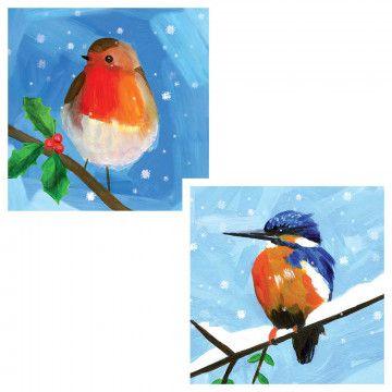 Snowy scenes Christmas cards (10 pack) | Wildlife (trust