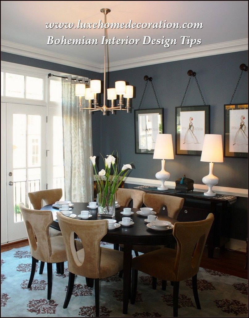 What You Should Know About Interior Design Luxe Home Decoration Dining Room Art Artwork Small