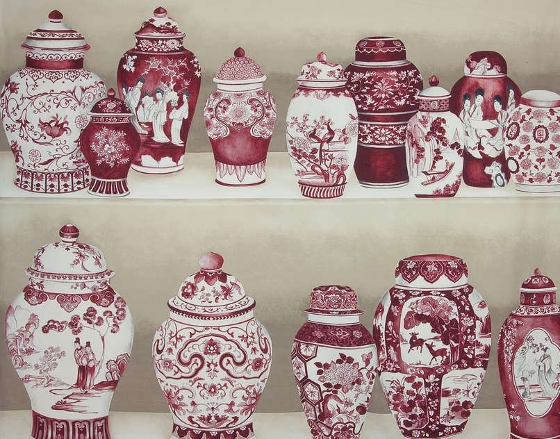 Tissu Macao de Pierre Frey   Pierre frey, Decorative panels and ...