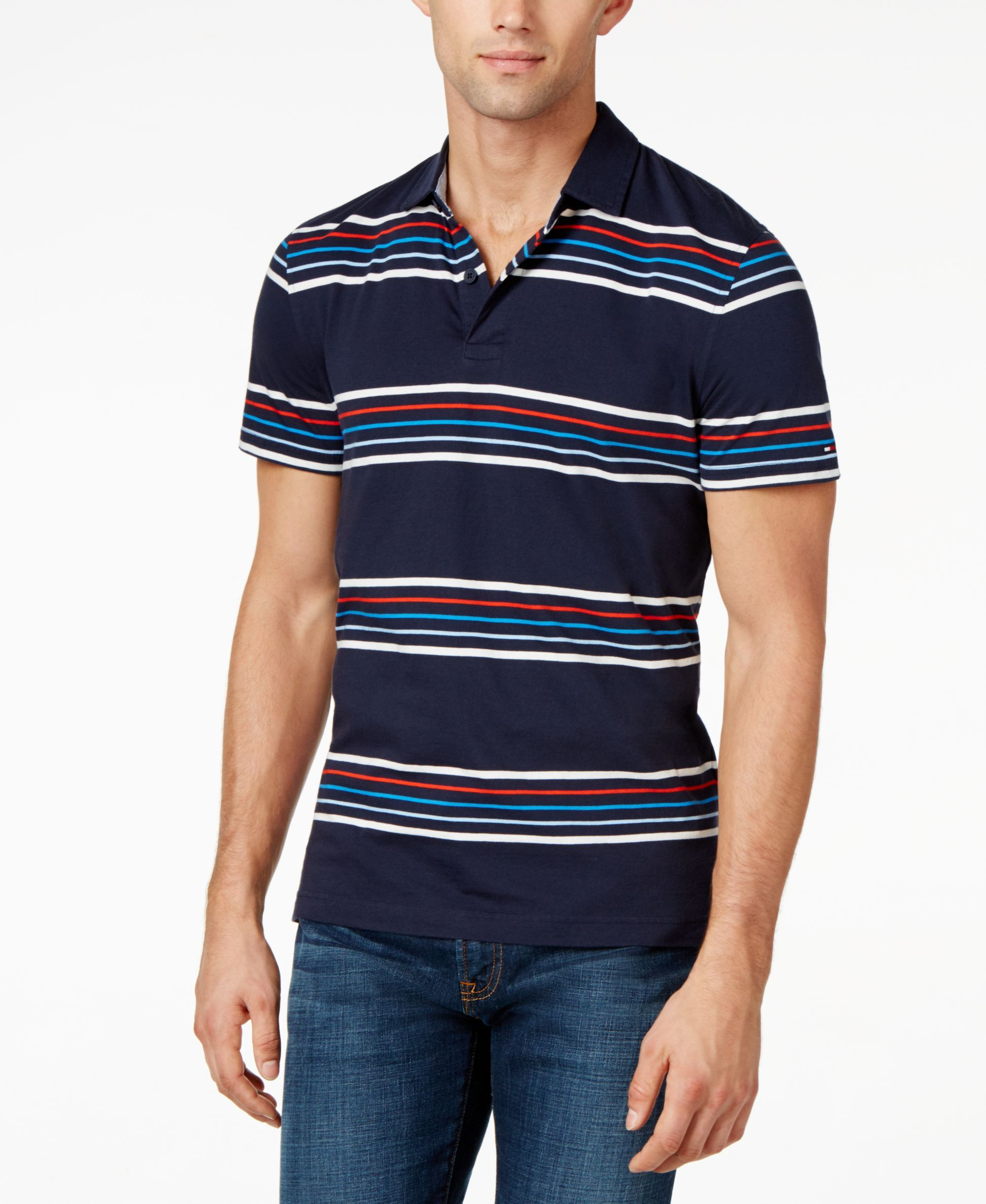 1bc711016460 Tommy Hilfiger Barry Striped Polo
