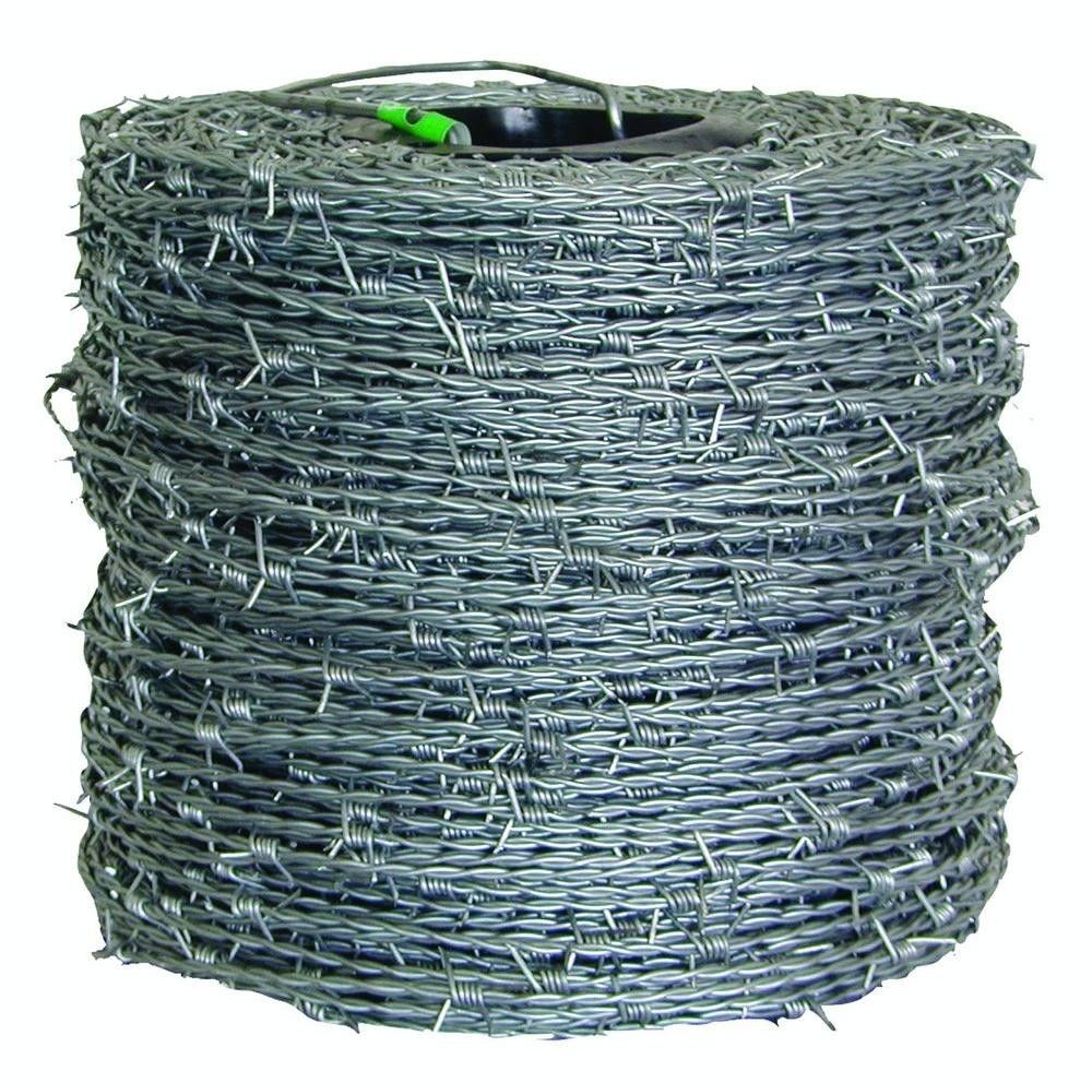 1,320 ft. 15.5 Gauge 4-Point High Tensile CL3 Barbed Wire Fencing ...