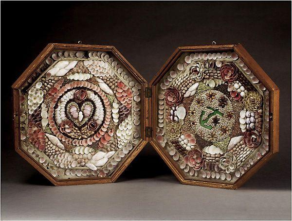Artinsolite Tradition Coquillage Sailors Valentine Sailors Valentine Vintage Shell Art Seashell Art