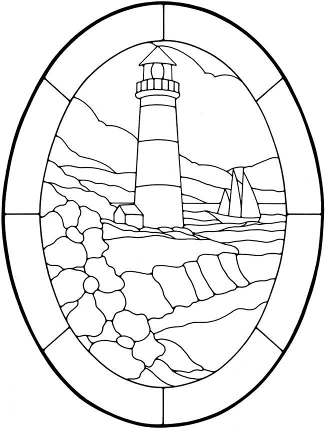 Nautical Designs Stained Glass Pattern Book Dover Publications