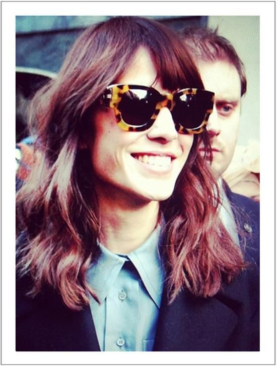 02ac0ba686a SPOTTED!  AlexaChung wearing a beautiful pair of Karen Walker Number Two  frames in  tortoiseshell. Doesn t she always look great