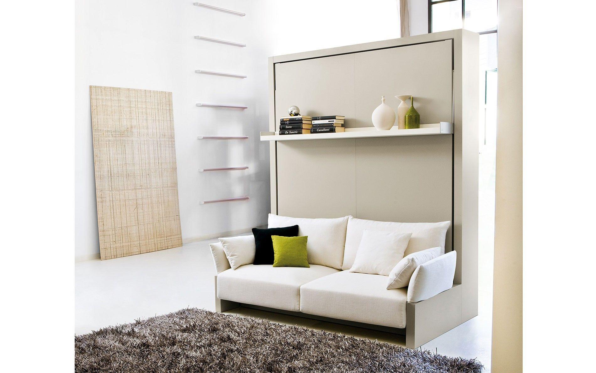 clei schrankbett sofa nuovoliola hochgeklappt m bel klappbett bett und schrankbett. Black Bedroom Furniture Sets. Home Design Ideas