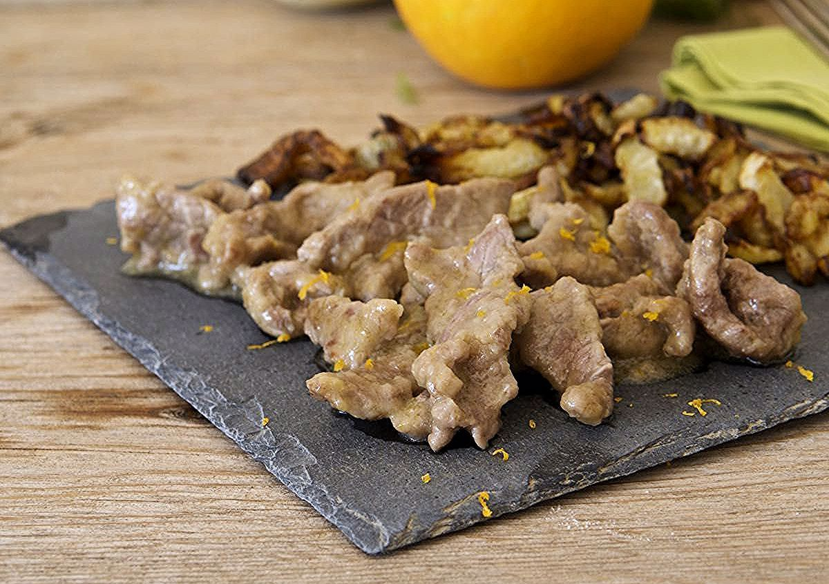 Photo of Beef strips with orange and fennel salad with …