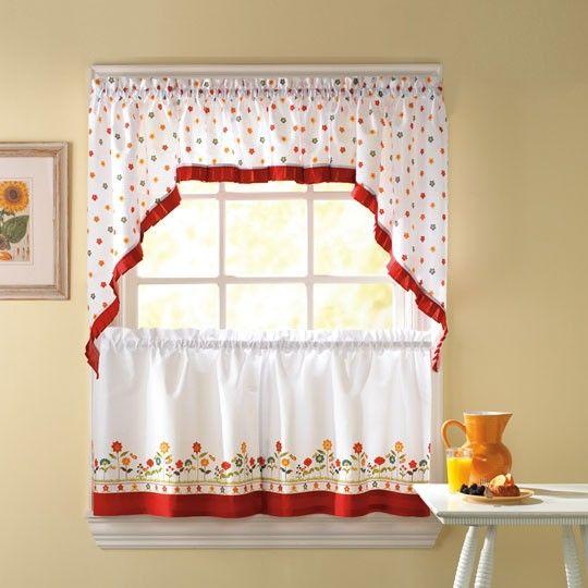 Annie Kitchen Curtains $15.00....Anna's Linens