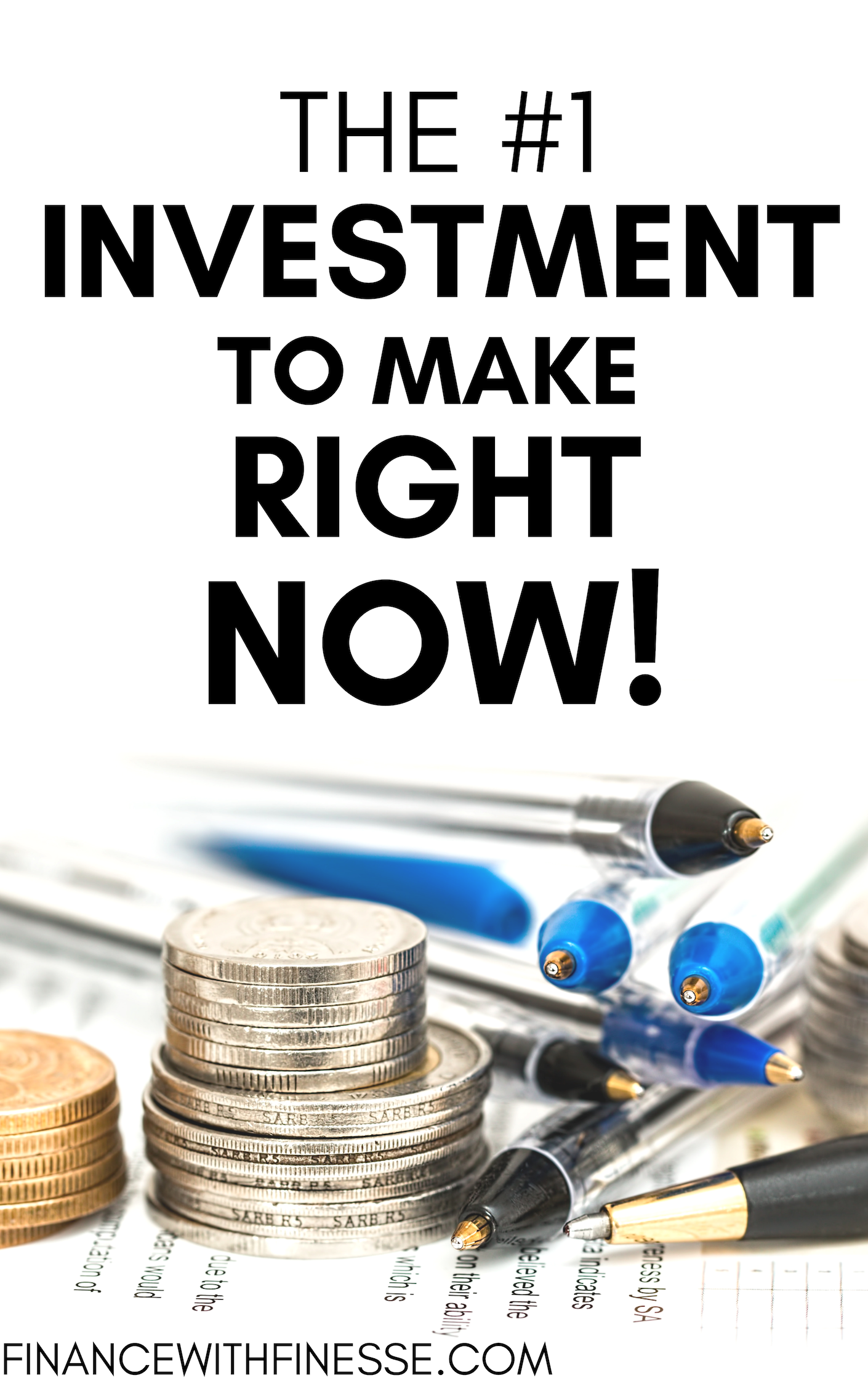 This is the #1 1 investment you can make right now ...