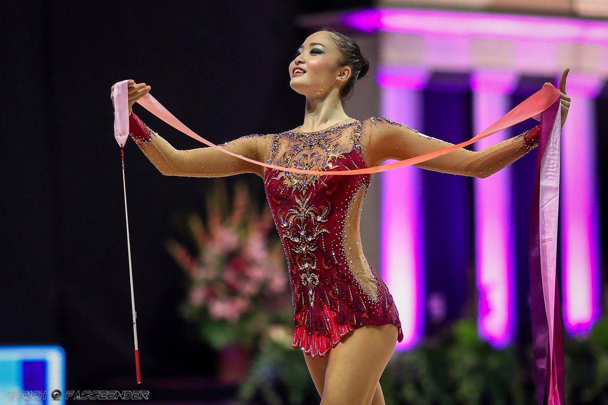 Pin by r r on beautiful tall gymnastics   Rhythmic