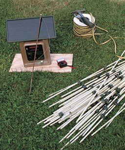 Superbe For A Simple Electric Fence, Youu0027ll Need (clockwise From Left):