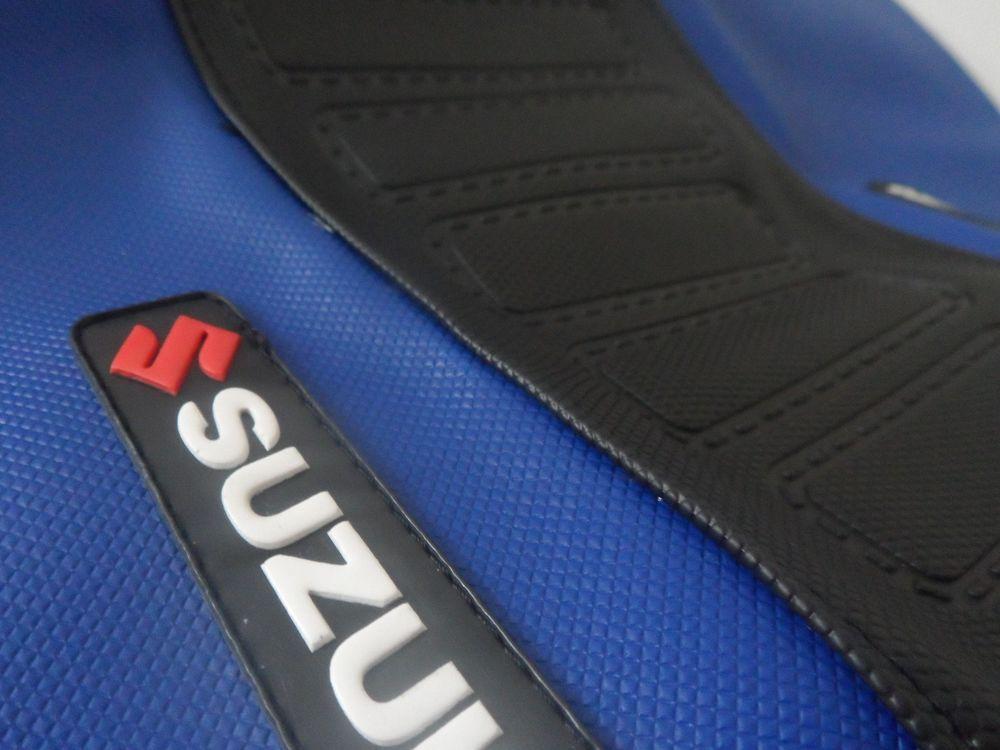 Fantastic Seat Cover Ultra Grip Suzuki Dr 350 Dr350 Blue Black Cjindustries Chair Design For Home Cjindustriesco