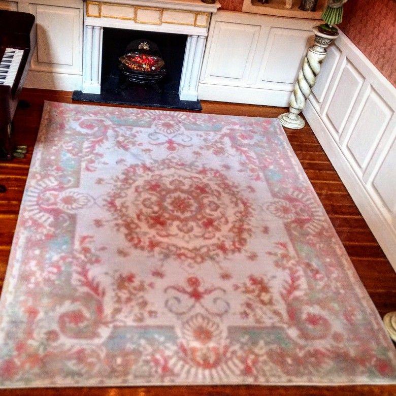 Big Velvet Printed Carpet In 2020 Printed Carpet Miniatures Prints