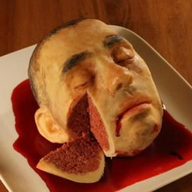 This woman's creepily realistic cakes will freak you out
