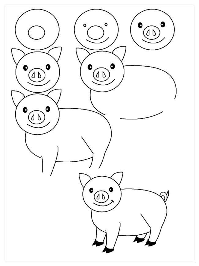Lindos Dibujos A Lapiz Para Hacer Con Tus Ninos Dibujos