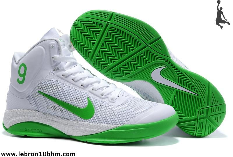 5af1e37223e4 Nike Zoom Hyperfuse Rajon Rondo Shoes White Lucky Green- more shoes I want!  love green 3