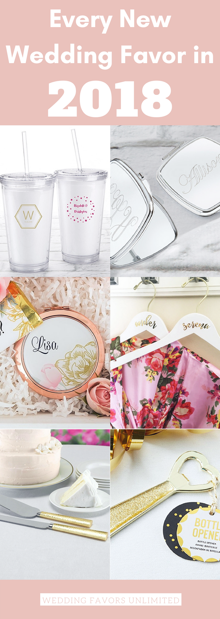 Every New Wedding Favor in 2018 - Wedding Favors Unlimited ...