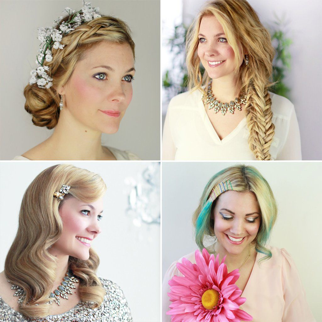 8 DIY Bridal Hair Ideas That Will Make You Ditch Your Stylist on the ...