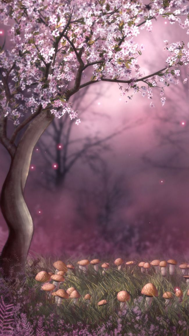 Tree Plant Natural Water Background Background Background Design Faeries