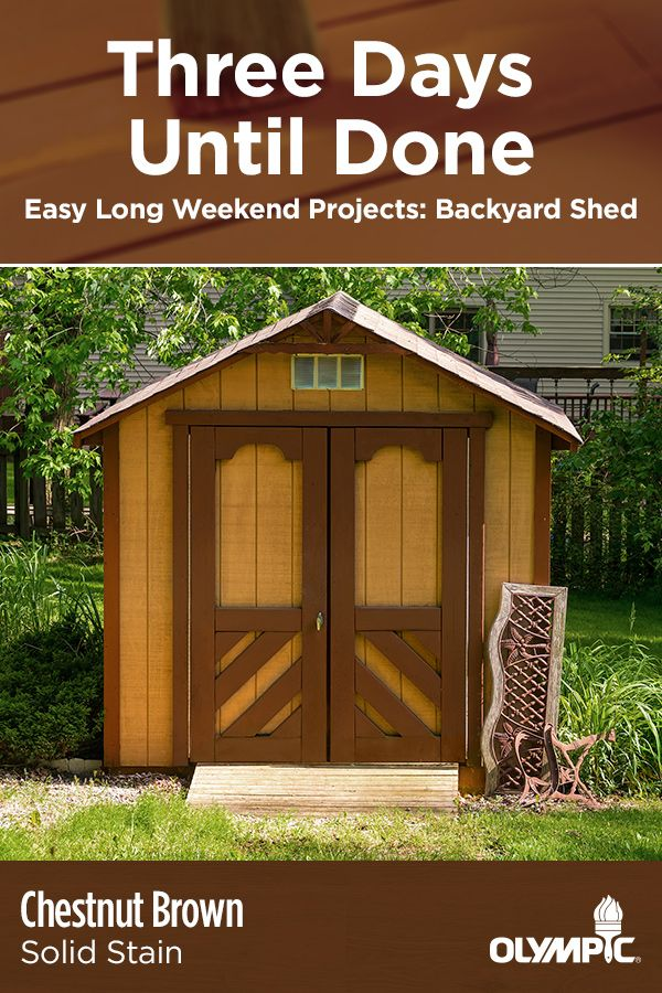 Great Stain Colors For Sheds Shed Backyard Shed Backyard
